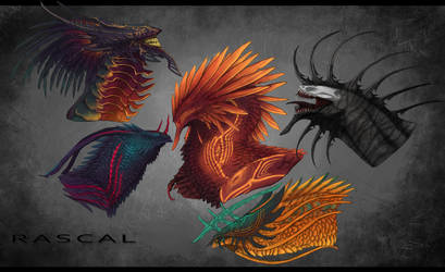 Some Busts by itz-Rascal