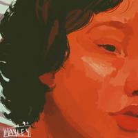 Chloe Moriondo 2/3 by GayleyChristine