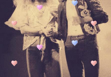 Robert Plant + Jimmy Page Bunny Gif by hija-de-luna