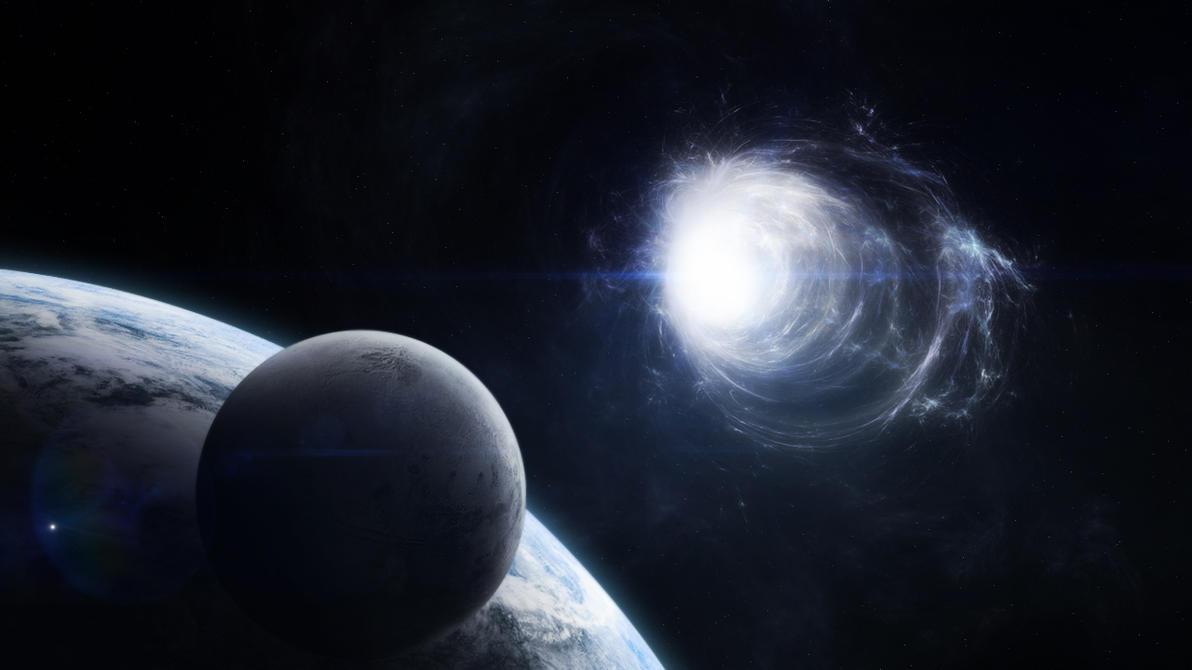 Risultati immagini per wormholes, aliens