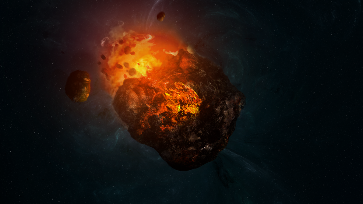 Asteroid Apophis by Massonius