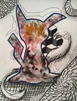 Abstract Mimikyu by maddythehooligan