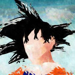 Goku by maddythehooligan
