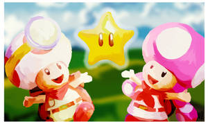 Captain Toad and Toadette