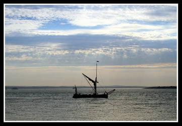 SolentSailBoat by JabbaMan