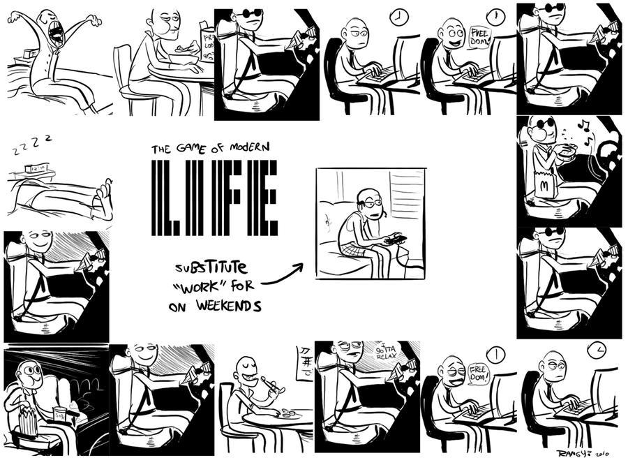 De La Nada- LIFE by RangyRougee