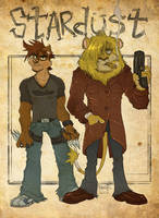 Gambo and Archie by RangyRougee