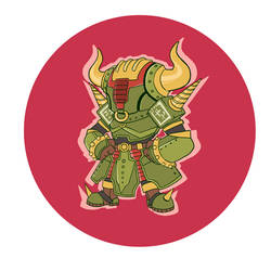 Rock Bison Sticker