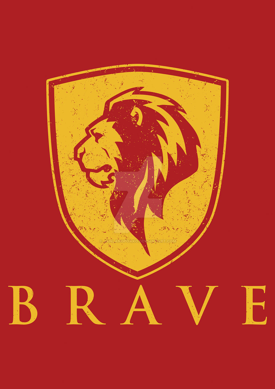 Gryffindor - BRAVE by janlangpoako