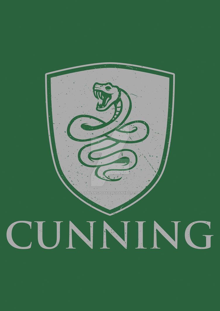 Slytherin - CUNNING by janlangpoako