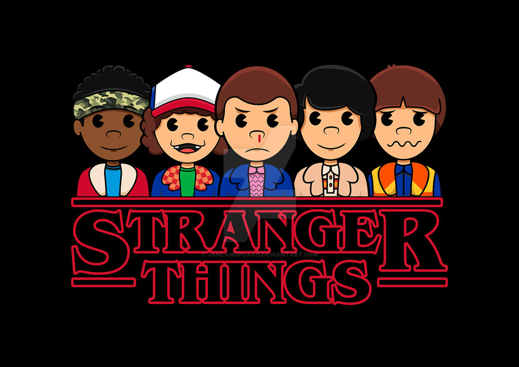 Stranger Things - AV Club by janlangpoako
