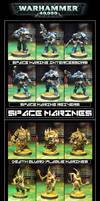 Warhammer 40k - First Strike Full Painted Set