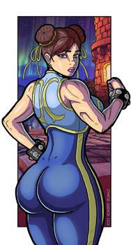 6. Street Fighter Alpha 3 - Chun-Li