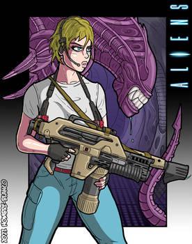 7. Aliens - The Arcade Game - Ellen Ripley