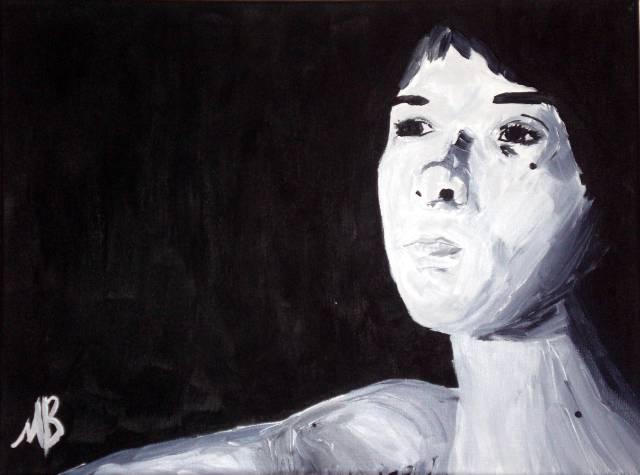 Self portrait by maxboisvert