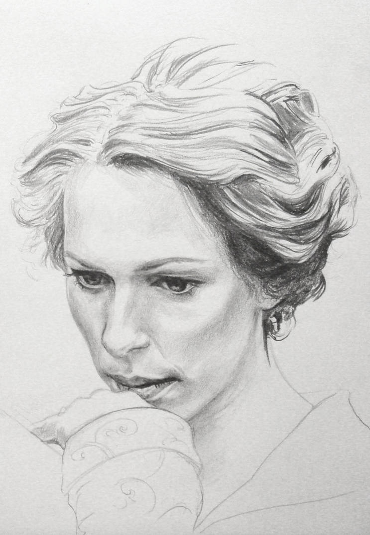 Sylvia Tietjens - Rebecca Hall by Teacosey