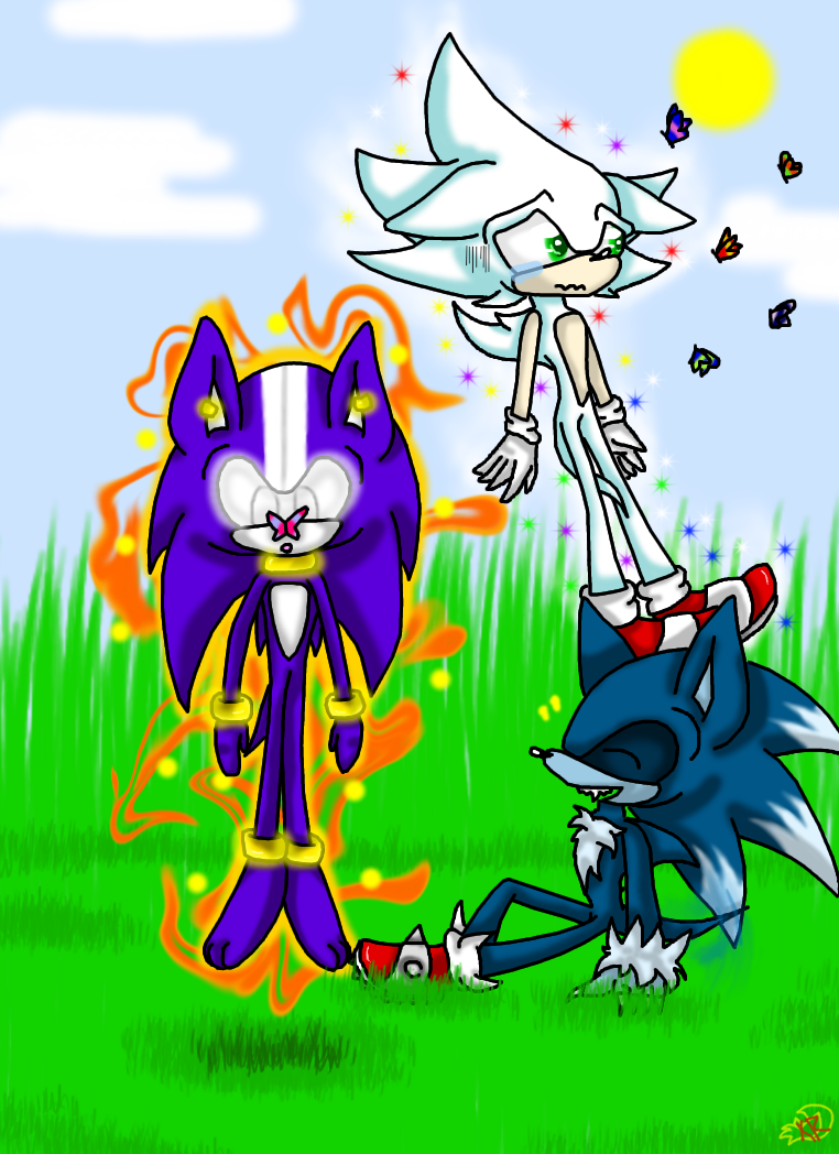 Sonic exe picture by sonicsonic1 on deviantart - Darkspine W Sonic H Sonic The Life Colored By