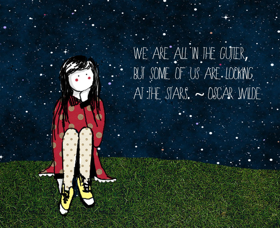 The Girl and The Stars.