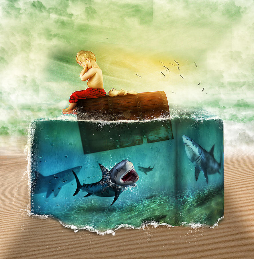 Scary Underwater on Desert.jpg by erkanozan