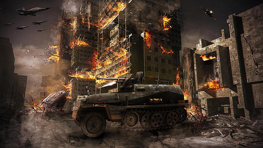 Destroy the City by erkanozan on DeviantArt