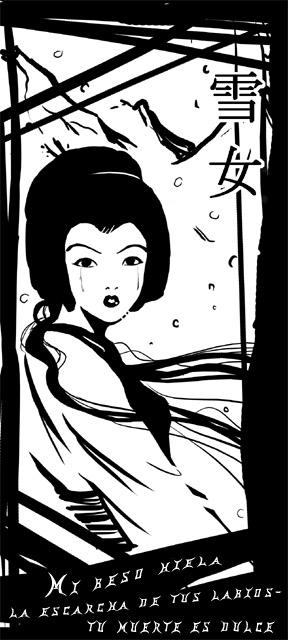 Yuki-onna by Munia