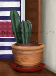 This is my cactus by Munia