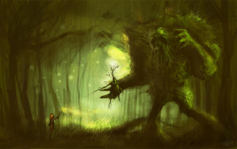 A Forest by JonnyHex