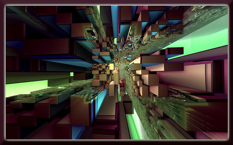 Rectangle Spiral by bib993