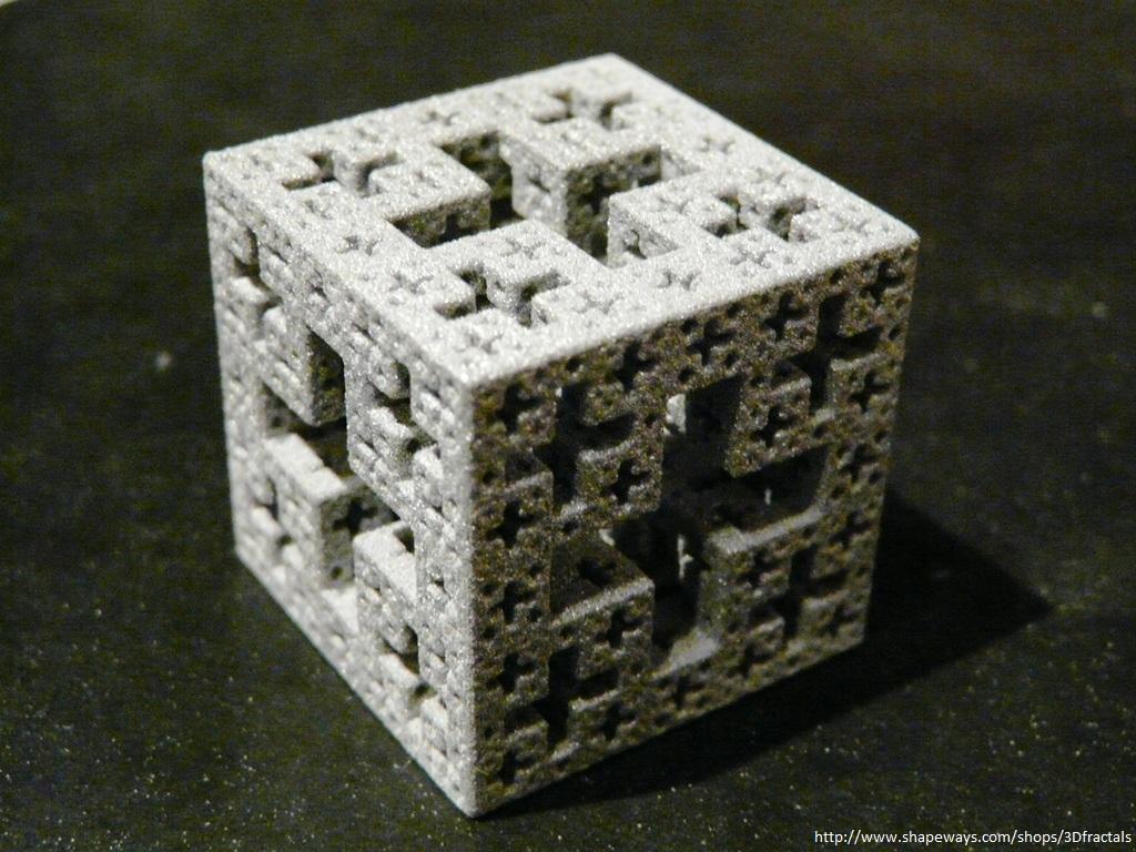 Jerusalem cube - 3D printed fractal by bib993