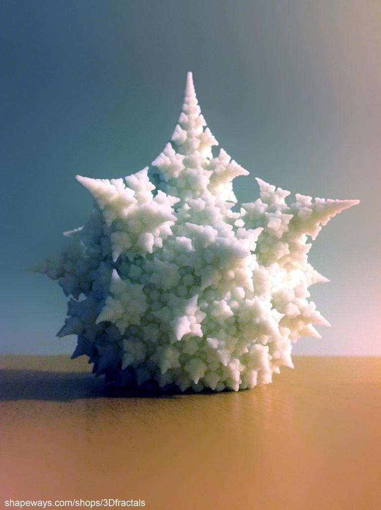 Amazing fractal bulb - 3D print by bib993
