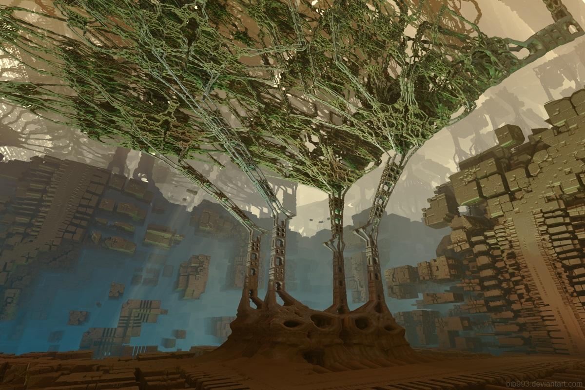 Techno tree by bib993