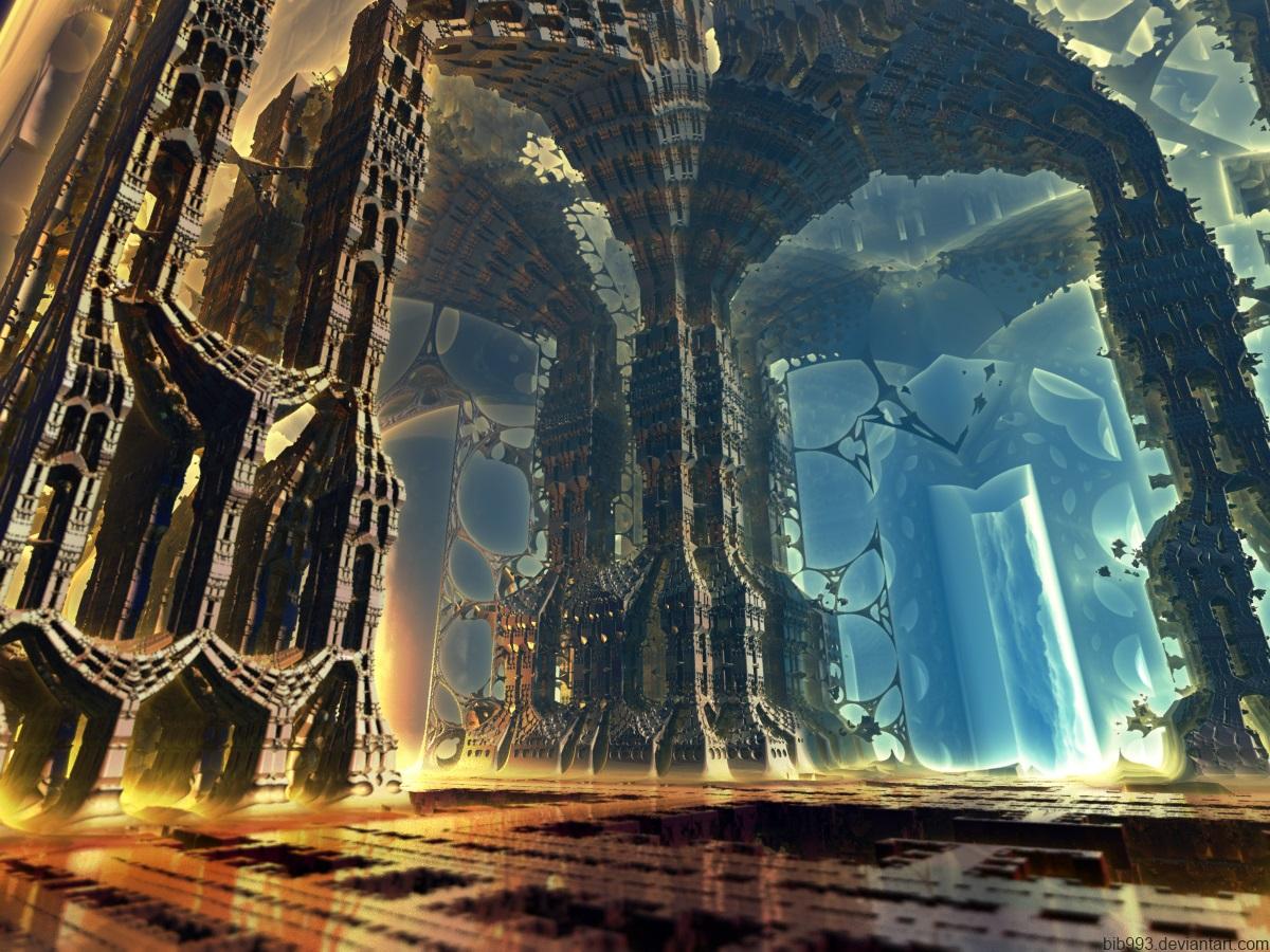 Hyper Temple One by bib993