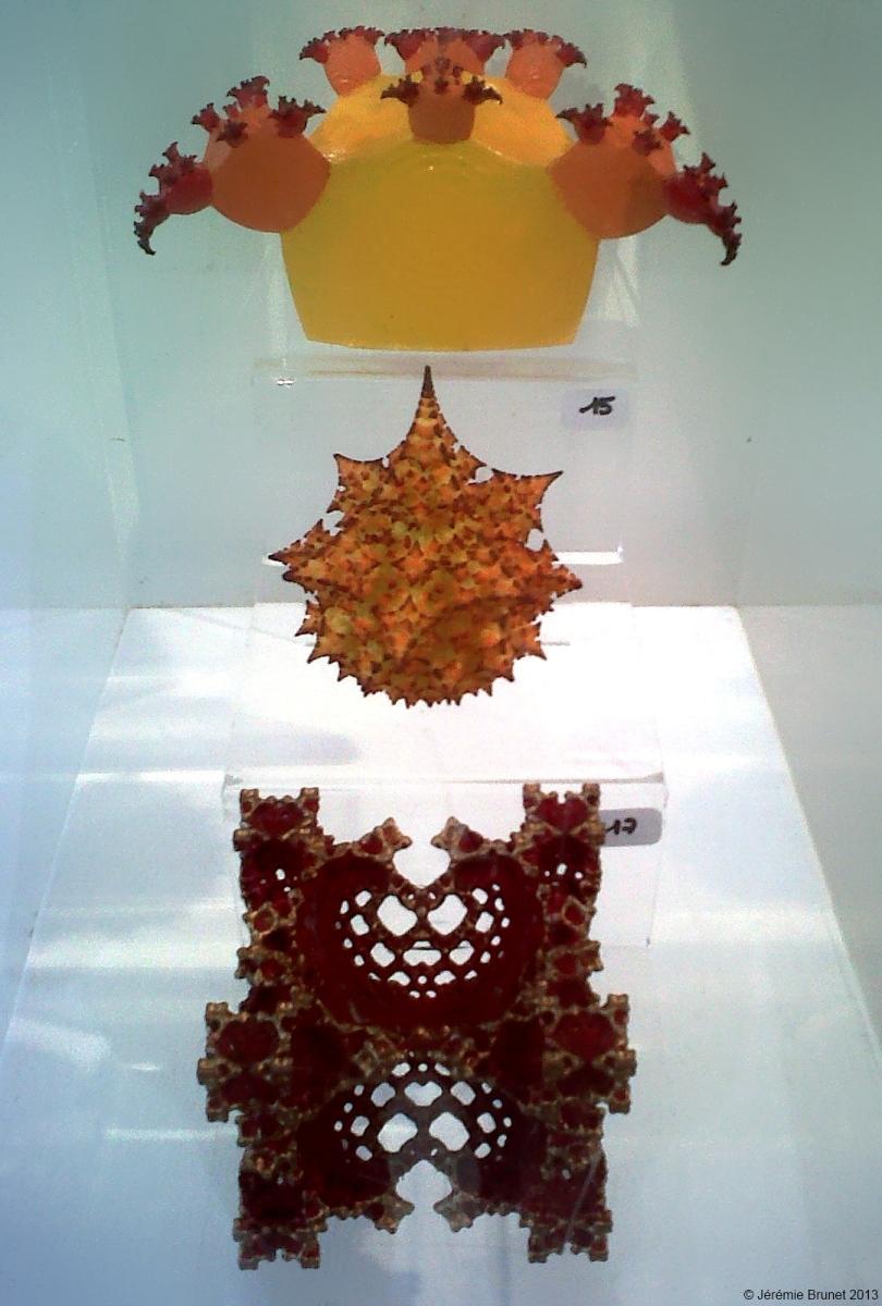 3 fractal sculptures by bib993