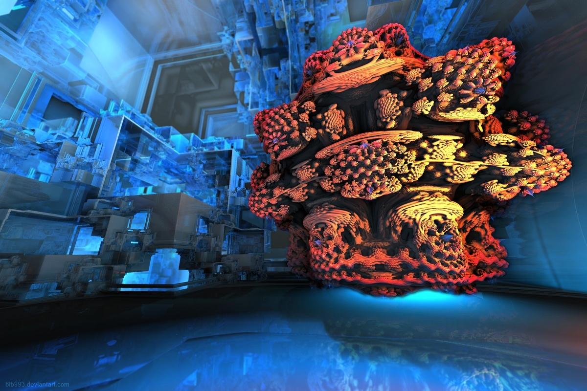 Space kitchen invader by bib993