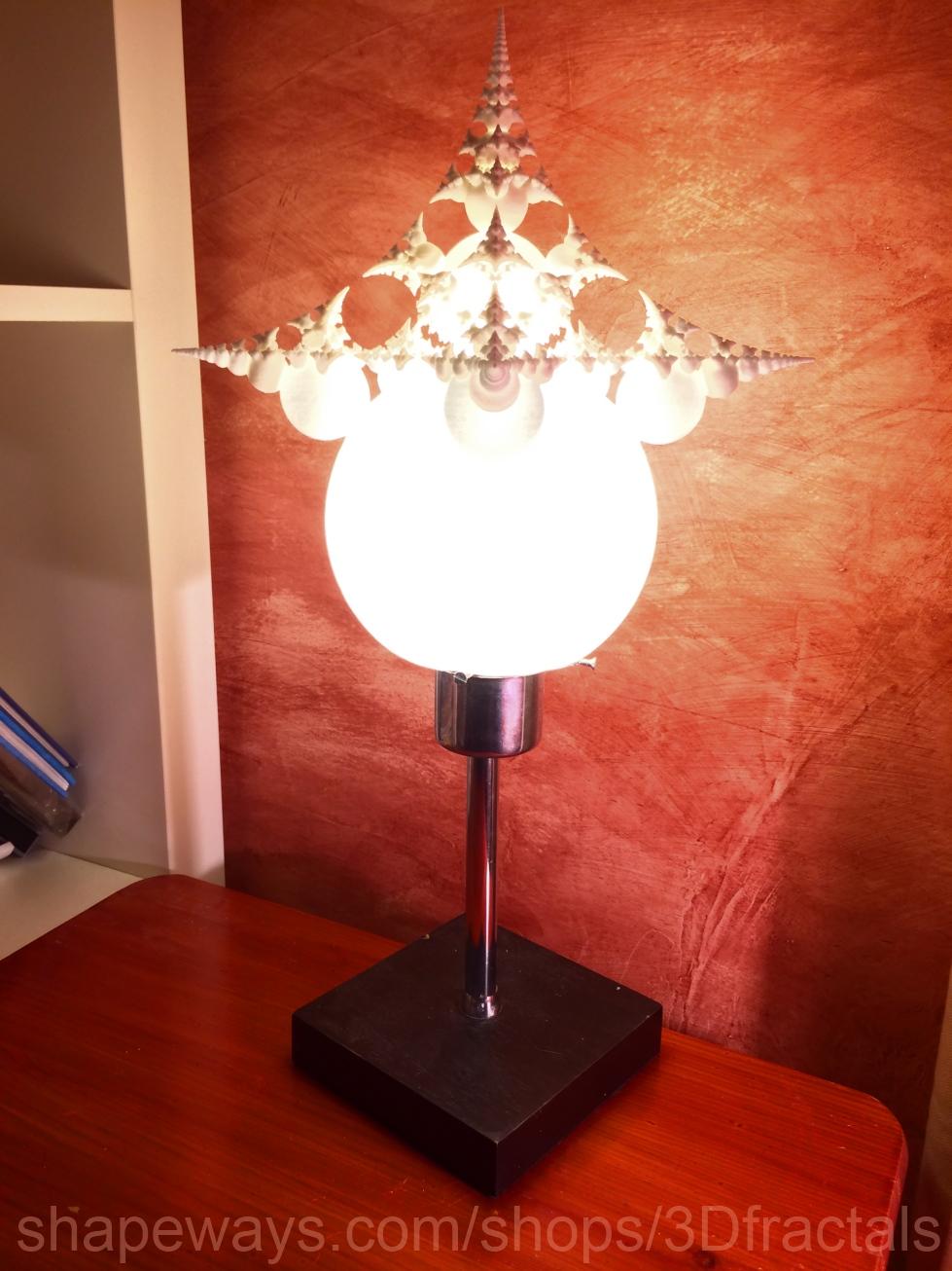 Infinity bubbles - fractal lamp by bib993