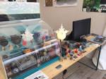 My booth at the 2014 Paris Maths fair