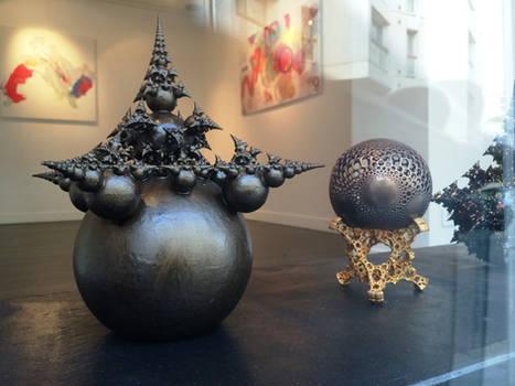 3D printed fractal sculptures showcased