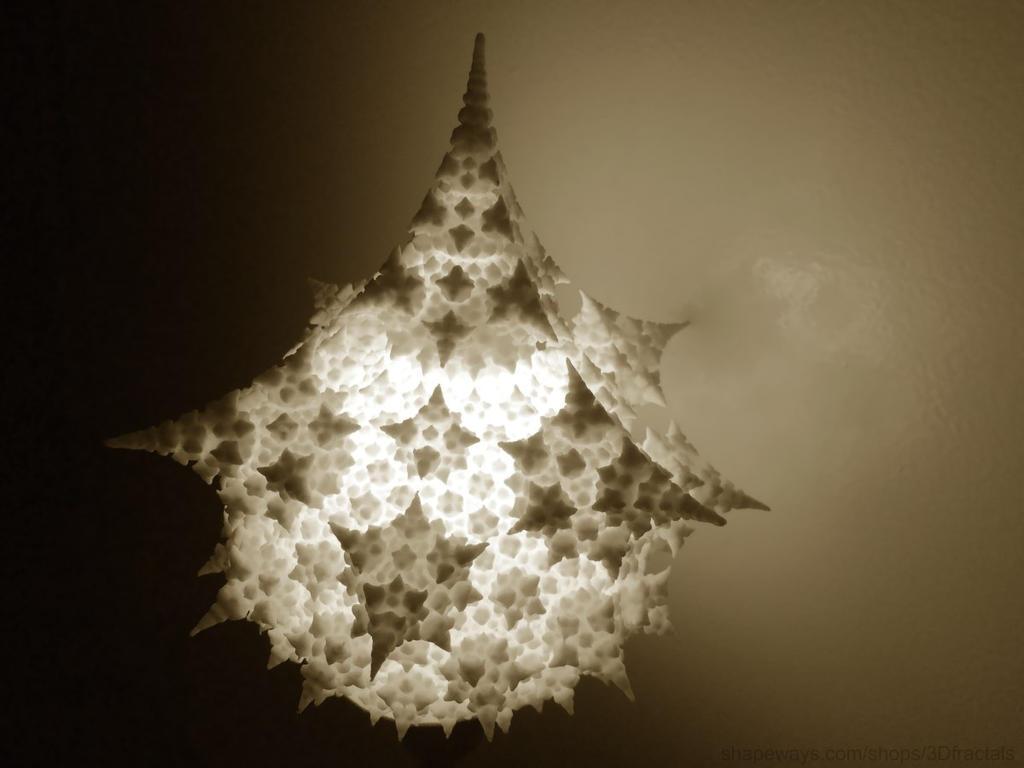 Fractal lampshade by bib993