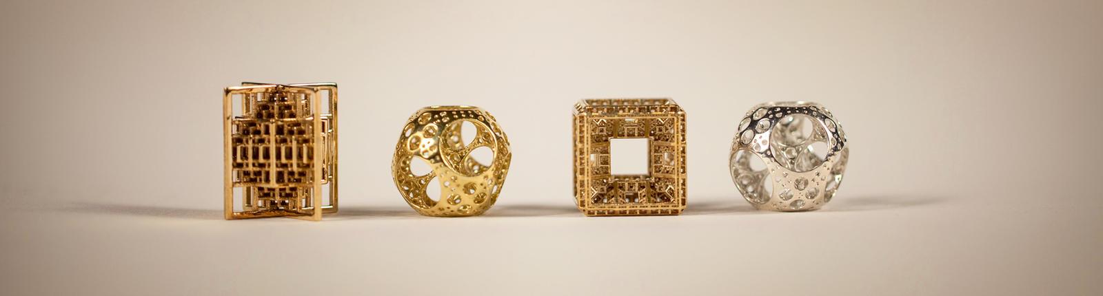 3D printed fractal jewels by bib993