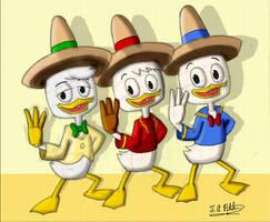Ducktales Caballeros by DisneyVista