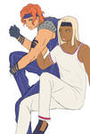 Tiziano and Squalo by dreamofablackswan