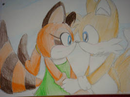 Tails and Marine again 8D