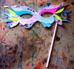 Mardi Gras Mask by RaburadoruI