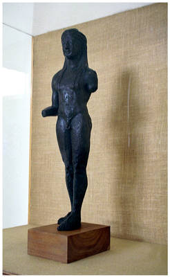 Delphi - Figure in metal