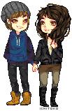 Zever and Eunie by Ichitoko