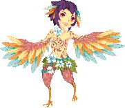 Day 1: Harpy by Ichitoko