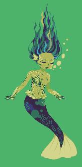Day 5: Mermaid by Ichitoko