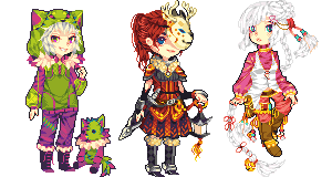 Commission Dump 1 by Ichitoko