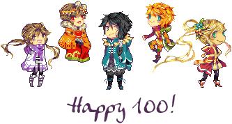 Happy 100! by Ichitoko