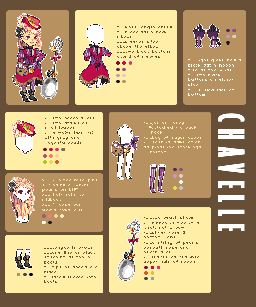 custom adoptable - MadameSinister by Ichitoko